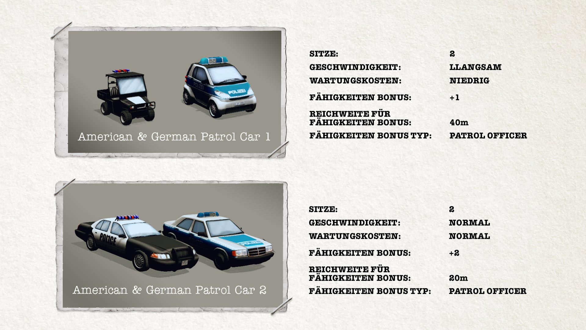 POLICE TACTICS: IMPERIO - Vehicles